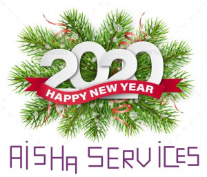 BONNE ANNEE 2020 AISHA SERVICES